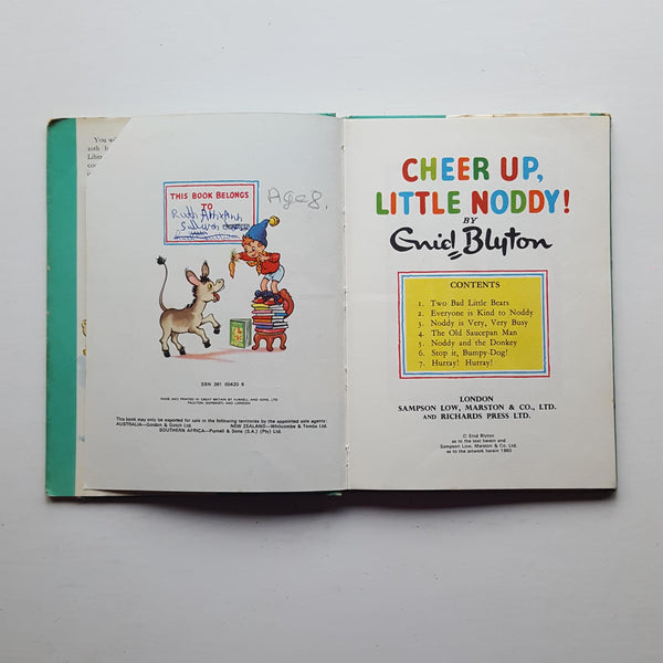 Cheer Up Little Noddy! by Enid Blyton