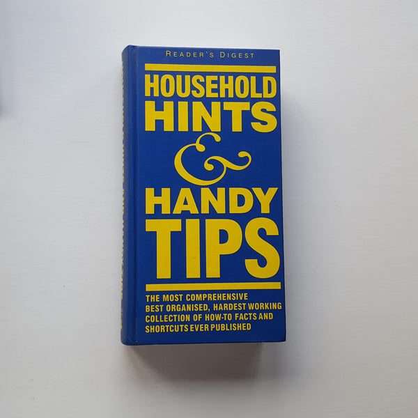 Household Hints and Handy Tips by Uncredited