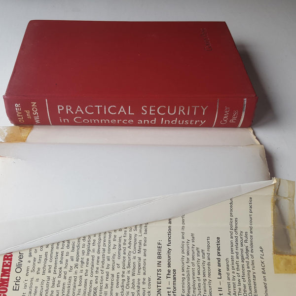 Practical Security in Commerce and Industry by Eric Oliver & John Wilson