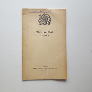 Theft Act 1968 by