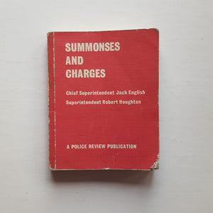 Summonses and Charges by Jack English and Robert Houghton
