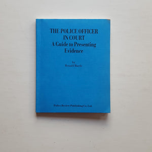 The Police Officer in Court by Ronald Bartle