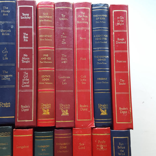 Readers Digest condensed books job lot of 24 books by Various