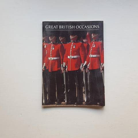 Great British Occasions by Ned Halley