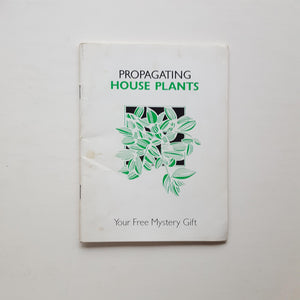 Propagating House Plants by Uncredited