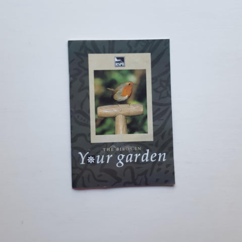RSPB booklet: The Birds in Your Garden by RSPB