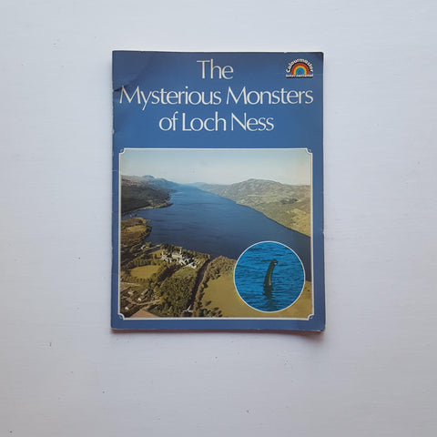 The Mysterious Monsters of Loch Ness by Anthony G. Harmsworth
