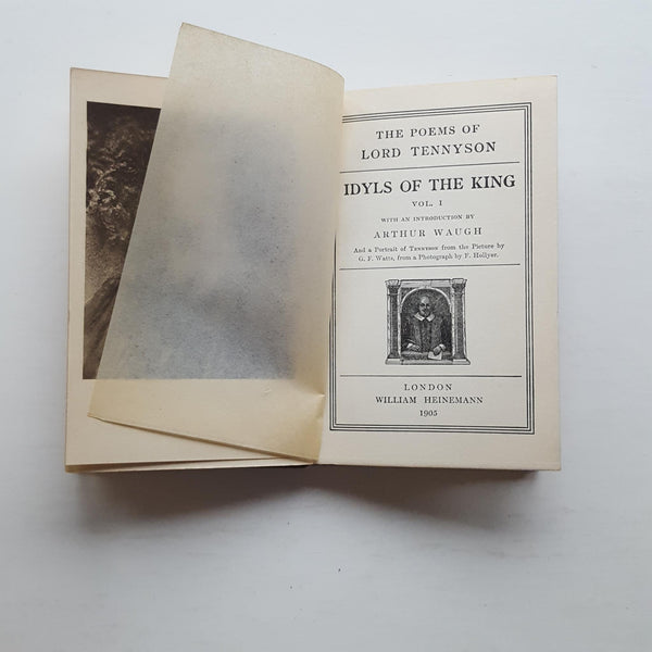 The Poems of Lord Tennyson: Idyls of the King by Alfred Lord Tennyson