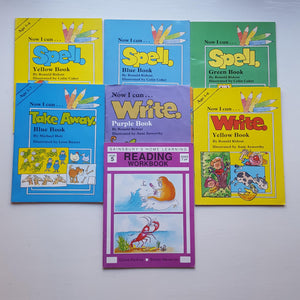 Set of home learning workbooks age 5-7 by Ronald Ridout