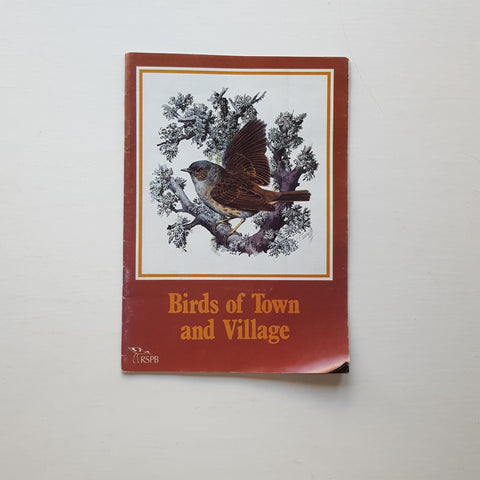 Birds of Town and Village by Eric Simms