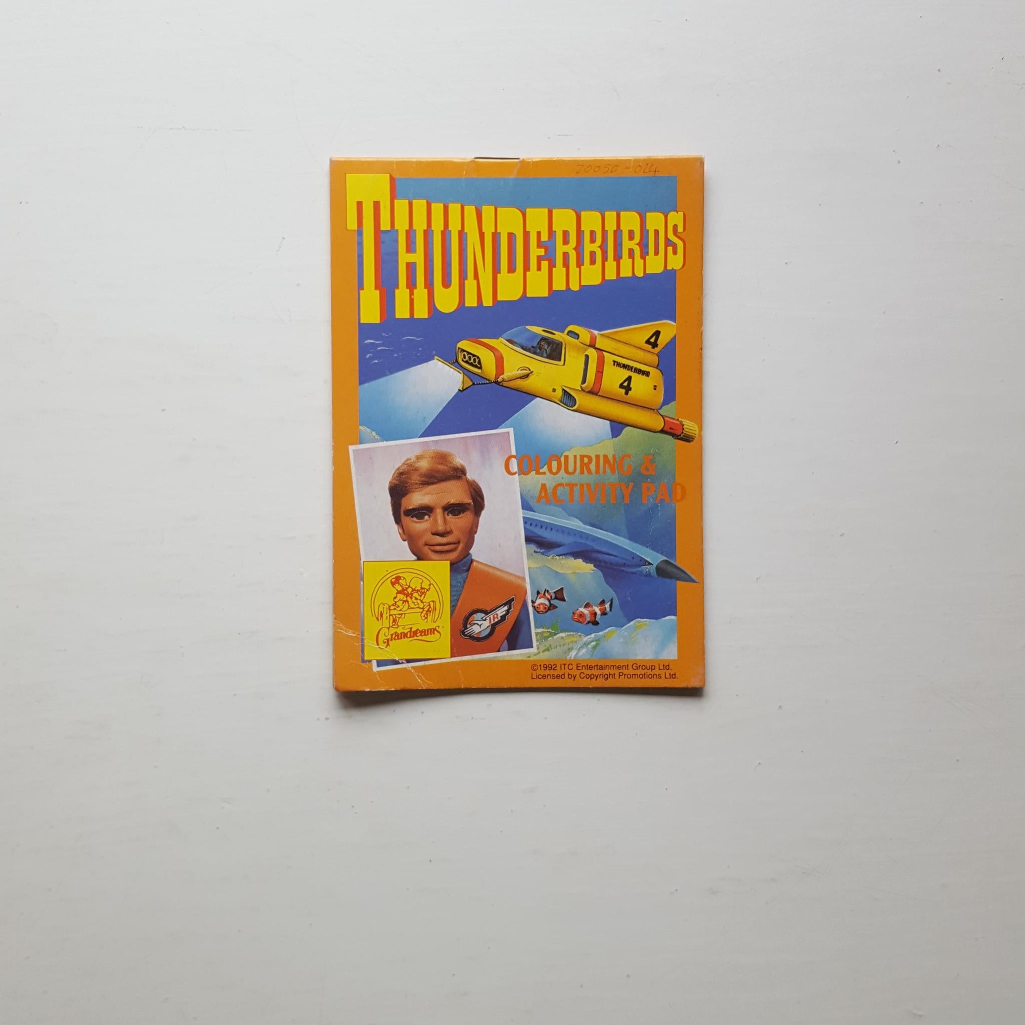 Thunderbirds Colouring & Activity Pad by ITC Entertainment Group Ltd
