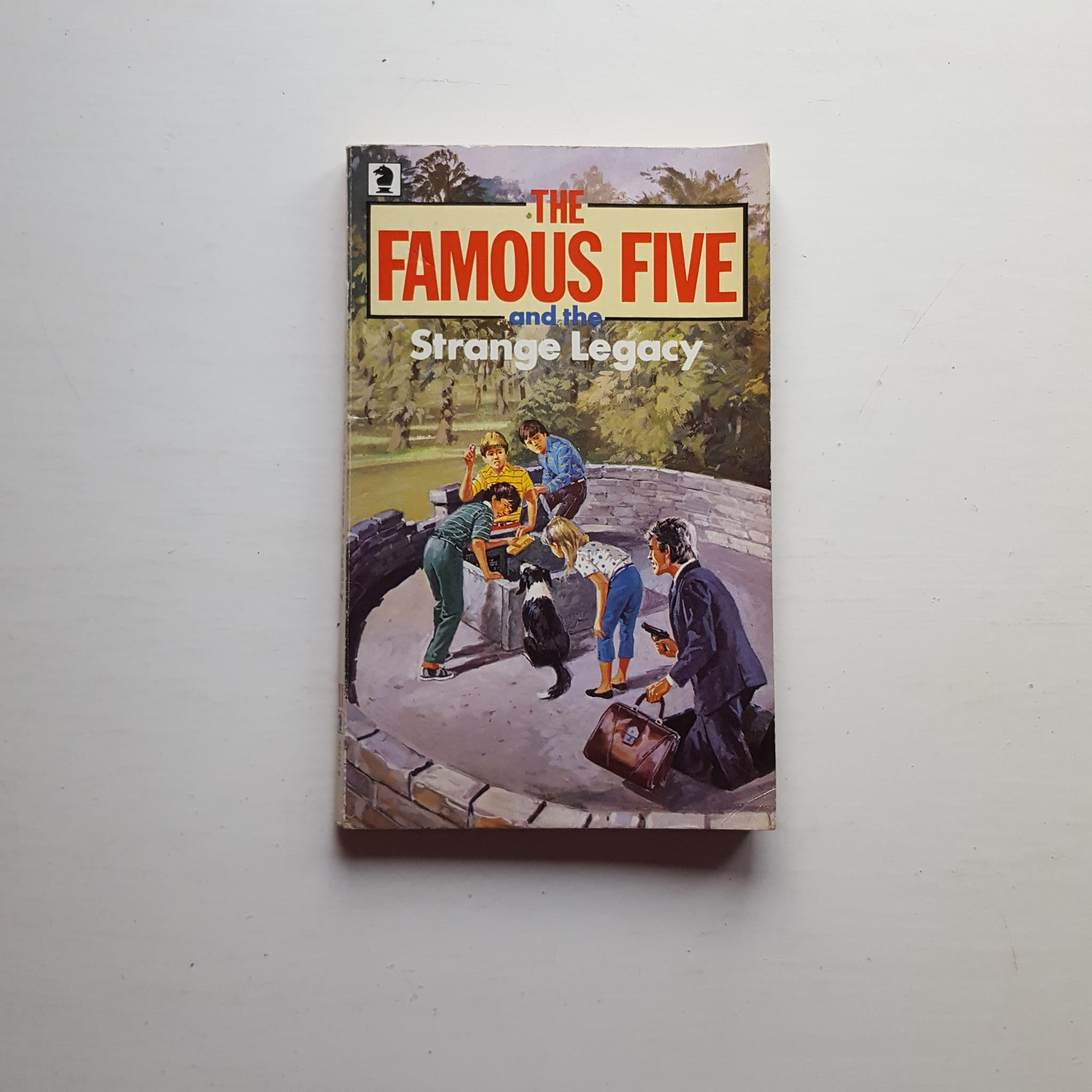 The Famous Five and the Strange Legacy by Enid Blyton