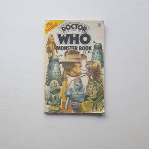 The Second Doctor Who Monster Book by Terrance Dicks