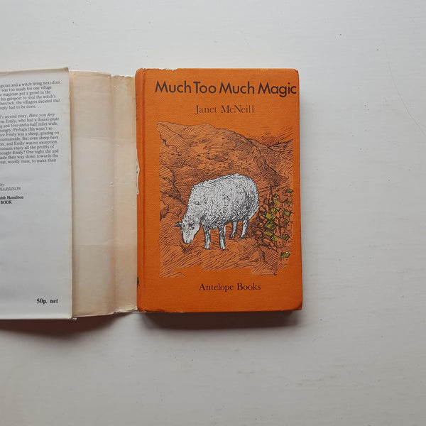 Much Too Much Magic by Janet McNeill