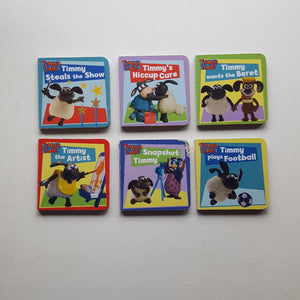 Timmy Time Pocket Library Board Books by Aardman Animations Ltd
