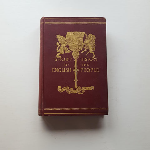 A Short History of the English People: Vol 2 by John Richard Green