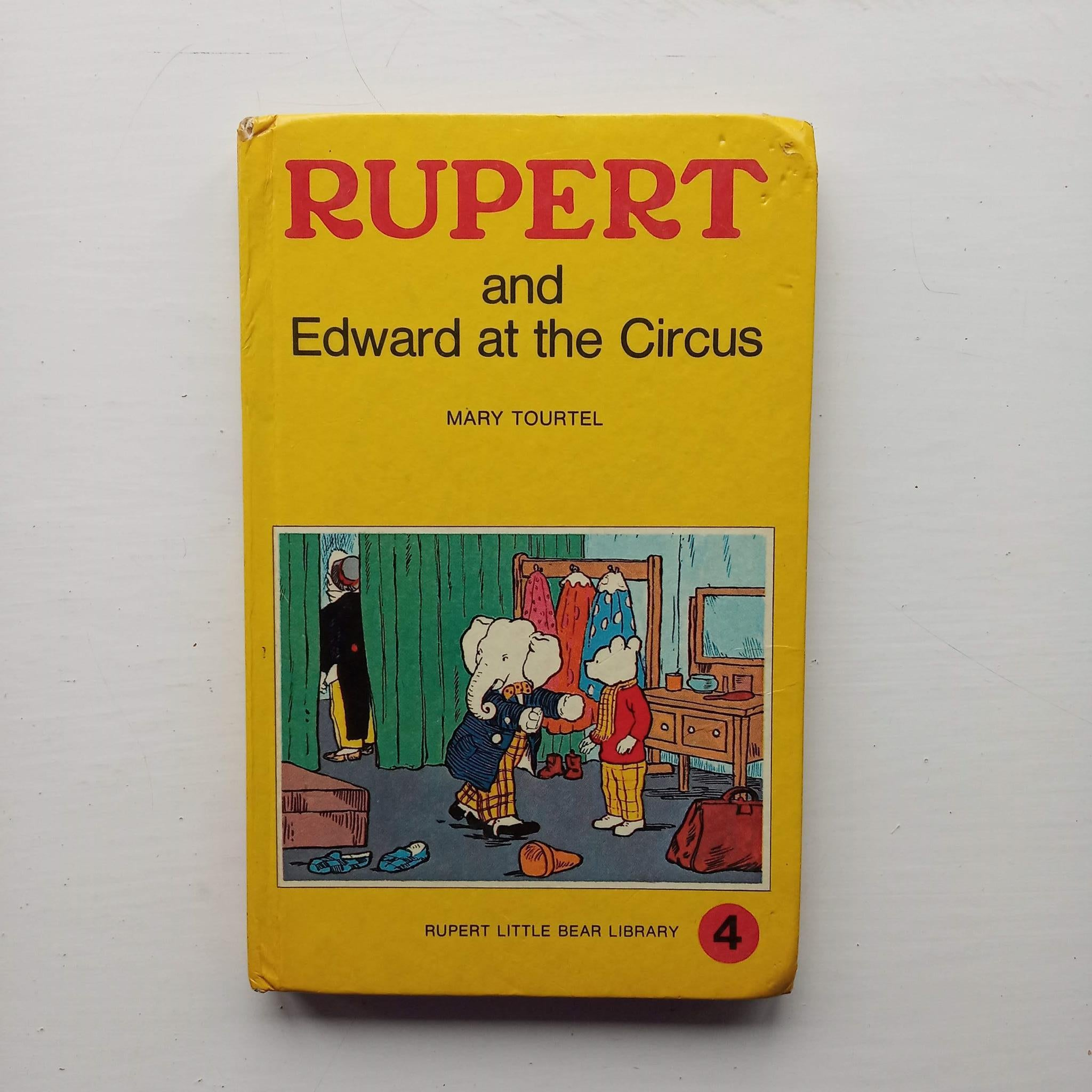 Rupert and Edward at the Circus by Mary Tourtel