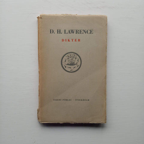 Dikter by D.H. Lawrence