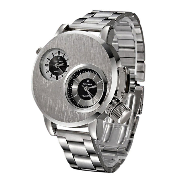 Stainless Steel Military style watch