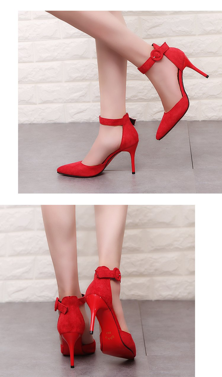 Pointed Toe Office Shoes