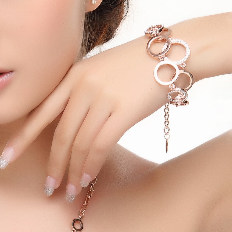 Personality geometry jewellery set