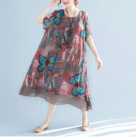 Women Chiffon Beach dress