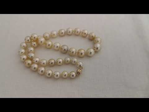 Load and play video in Gallery viewer, 10-13 mm High Luster South Sea Pearls