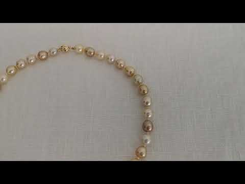 Load and play video in Gallery viewer, South Sea Pearls of Natural Color and Luster