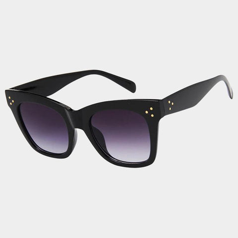 Off Duty Black Sunglasses