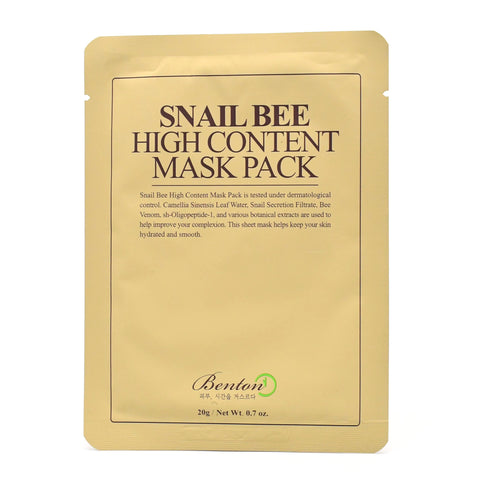 Buy Korean Sheet Mask Snail Bee High Content Mask in Australia at Lila Beauty