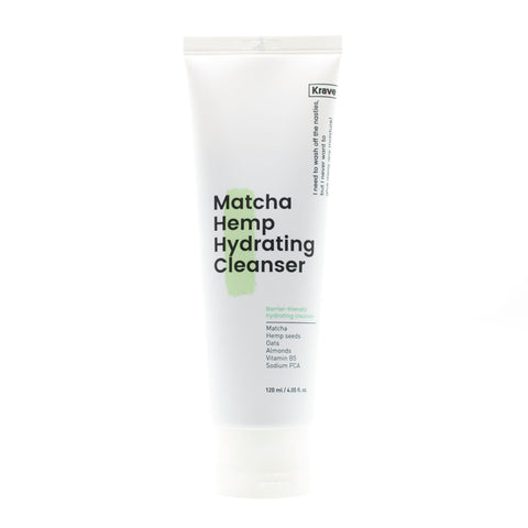 Buy Krave Beauty Matcha Hemp Hydrating Cleanser in Australia at Lila Beauty.