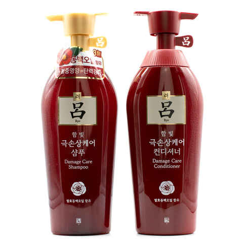 Buy Ryo Hambit Damage Care Shampoo and Conditioner in Australia at Lila Beauty
