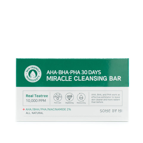 Buy Some By Mi AHA BHA PHA 30 Days Miracle Cleansing Bar in Australia at Lila Beauty