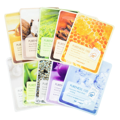 Buy Korean Sheet Mask Tony Moly Pureness 100 Mask Sheet in Australia at Lila Beauty