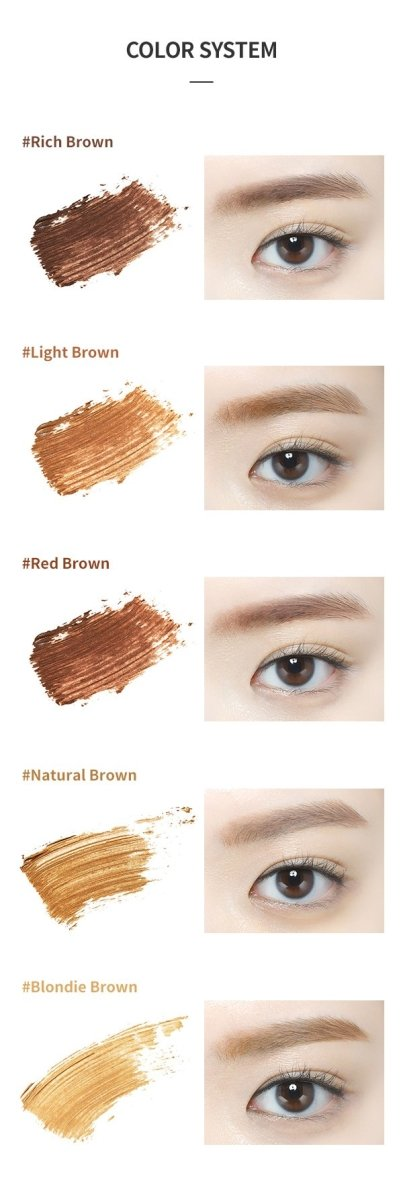 Buy Etude House Color My Brows 4.5g in Australia at Lila Beauty - Korean and Japanese Beauty Skincare and Cosmetics