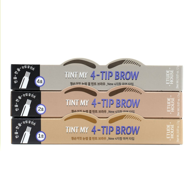 Buy Etude House Tint My 4-Tip Brow in Australia at Lila Beauty - Korean and Japanese Beauty Skincare and Cosmetics