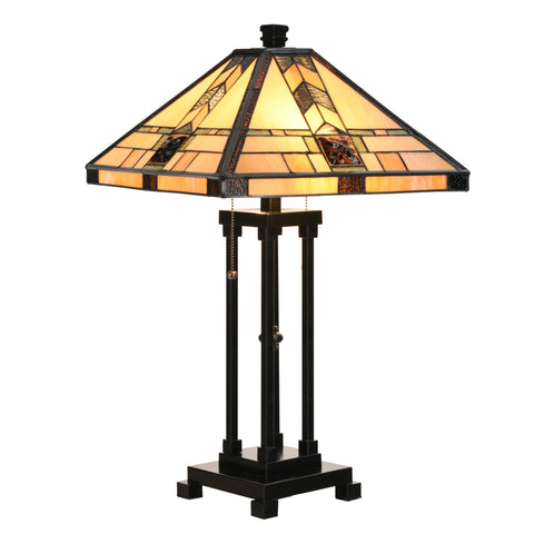 Tiffany Style Lamp Table Lamp Home Decor Lighting Mission Design Desk Lamp - cloudmountainproducts