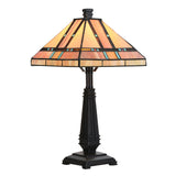 Tiffany Style Egyptian Table and Desk Lamp Home Decor Lighting Mission Design