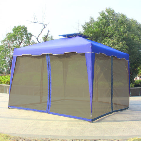 10' x 10' Gazebo Replacement Outdoor Garden Gazebo Canopy Mosquito Netting ONLY - cloudmountainproducts