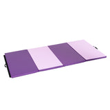 "4' x 8' x 2""  Thick Gymnastics Mat Folding Yoga Mat Panel Home Gym Exercise Fitness"