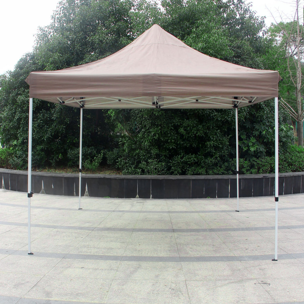 Outdoor Garden Gazebo Portable Shade Folding Canopy Tent 10 x 10 Ft Waterproof - cloudmountainproducts
