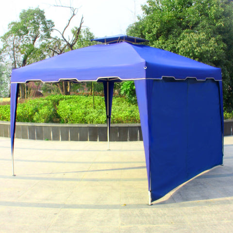 117 inches  x 117 inches  Gazebo Replacement Panel Side Wall Dual Tier Outdoor Garden Patio - cloudmountainproducts
