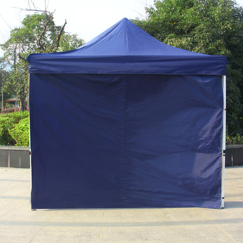 1PC Wind and Sun Shade Privacy Panel for 10 x 10 Feet Gazebo, Royal Blue