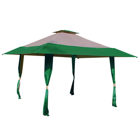 13'  x 13'  Easy Pop Up Canopy Outdoor Yard Patio Double Roof Gazebo Canopy Tent - cloudmountainproducts