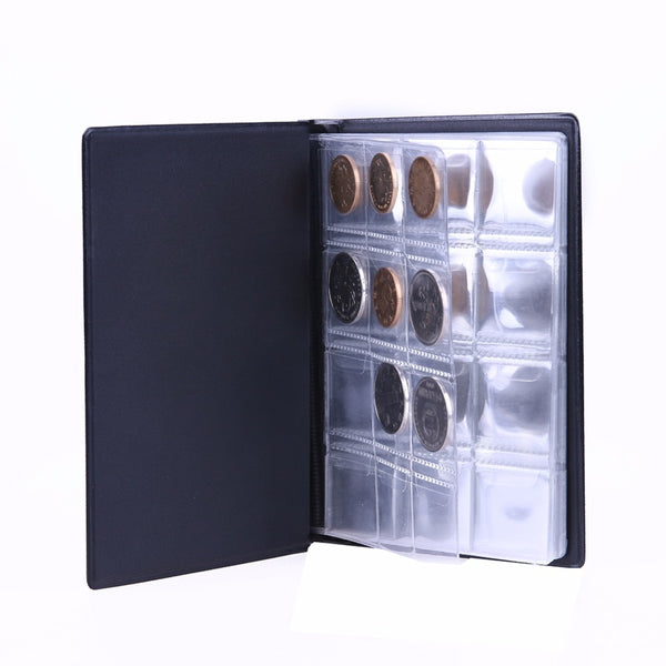 120 Pockets Coins Album