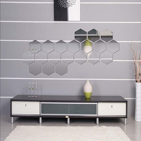 Mirror Hexagon Removable