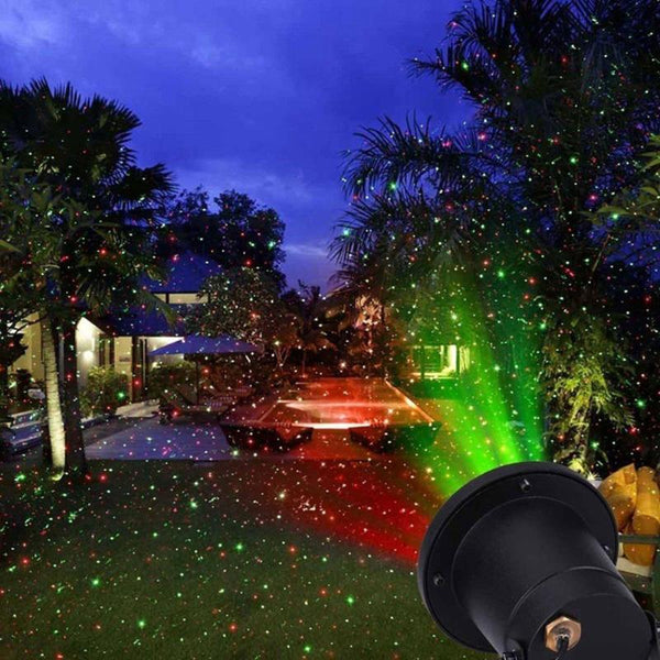 Remote control lamp for garden multicolor