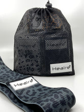 Load image into Gallery viewer, Healre exercise resistance bands in black leopard print