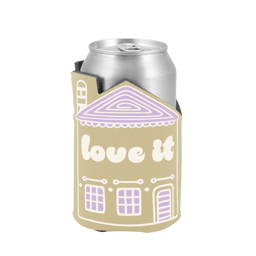 House-Shaped Can Cooler - Apartment Promotion