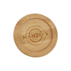 Bamboo Coaster - Printed or Laser-Engraved - Apartment Promotion